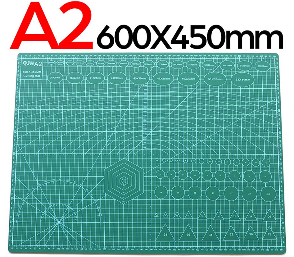 Килимок самозатягуючий двосторонній для різання QJH A2 600х450 мм