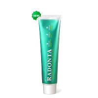 Зубная паста Radonta, вечерняя. Кариес, антимикробное, заживляющее, противовоспалительное действие
