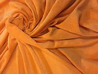 Велюр хлопковый. Ринг оранжевый