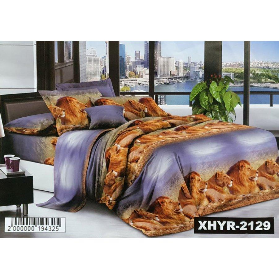 Полуторное постельное белье Бязь Ranforse (100% хлопок) - Саванна