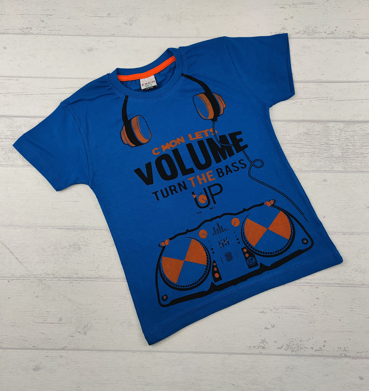 Детская футболка для мальчиков 8,9,10,11,12 лет volume