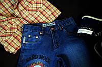 Подростковые джинсы с черепом