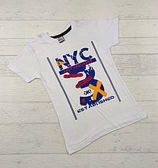 Детская футболка для мальчиков 3,4,5,6,7 лет nyc