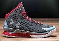 Баскетбольные кроссовки Under Armour Curry серые