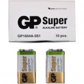 Батарейка GP 1604A-5UE1 щелочная 6LF22,6LR61 Alkaline Super (крона) GP-002311
