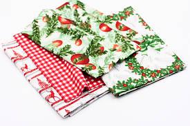Хлопковые ткани с новогодними принтами (160-240 см)