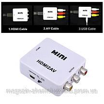 Sale! Конвертер с HDMI на AV 1080p- Новинка, фото 3
