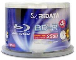 BD-R (Blu-ray) і BD-RE 25Gb і 50Gb диски для запису відео