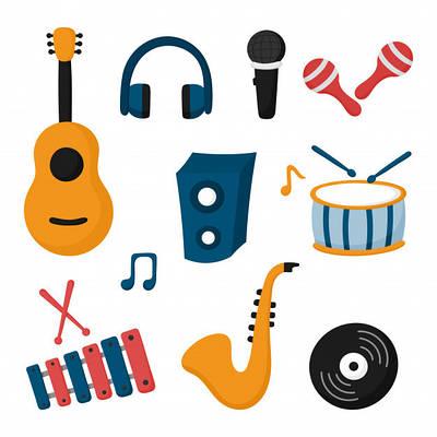 Музыкальные инструменты, оборудование