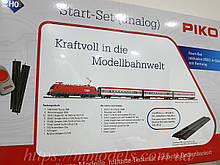 НОВИНКА 2020 Piko 57113 Дитяча Залізниця. Стартовий набір вантажний потяг з паровозом , масштаб 1/87 H0