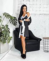 Женский комплект (рубашка+халат), фото 1