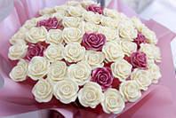 Букет из шоколадных роз 59 шт