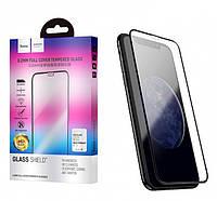 Захисне скло Hoco Full screen curved surface HD 0.2 mm (A2) для Apple iPhone Xs Black Max