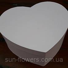 Коробка у формі серця рожева