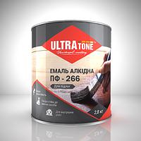 """Эмаль ПФ-266 для пола желто-коричневая 0.9 кг """"ULTRAtone"""""""