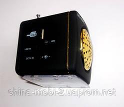 Портативная колонка/ динамик/ радио WS-909RL MP3/SD/USB/AUX/FM/LED, фото 3
