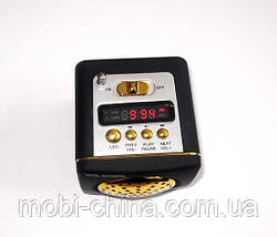 Портативная колонка/ динамик/ радио WS-909RL MP3/SD/USB/AUX/FM/LED, фото 2