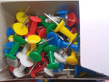 Кнопки силовые с держателем 320240 DR цветные (10 уп) Leader