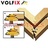 Фреза VOLFIX №4 D51 d8 для кутового зрощування деревини (мікрошип) (марошип) по дереву FZ-120-554 d8, фото 5