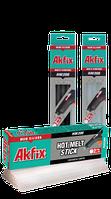Мум - силикон термоклей Akfix HM 208 (клеевые стержни) прозрачный (d = 11.2 мм, 30 см)
