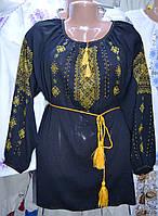 """Жіноча вишита блузка """"Чорне золото"""""""