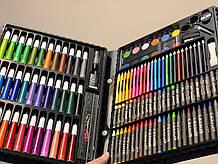 Набор для рисования и творчества детский Арт Набор на 150 предметов в чемоданчике Art Set 150 Черный