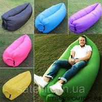 Надувной гамак шезлонг LamzaС Hangout, надувной диван кресло Ламзак, надувной матрас