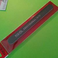 Пилка для нігтів For you 100/180 чорна, вузька