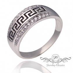 Кольцо серебряное с фианитами Арт. 1288