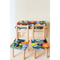 Стол детский со стульчиками ТИПА ФИКСИКИ