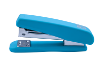 Степлер Buromax RUBBER TOUCH (скобы №24; 26), голубой пластиковый корпус (BM.4202-14)