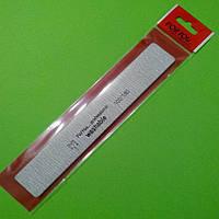 Пилка для ногтей For you 100/180 серая, прямоугольная, фото 1