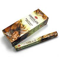 Аромапалочки Шоколад благовония Chocolate для дома натуральные