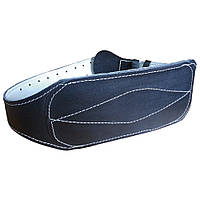 Кожаный пояс тяжёлоатлетический 15 см, фото 1