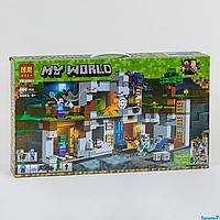 """Конструктор Bela My World 10990 """"Приключение в шахтах"""", 666 деталей, в коробке"""