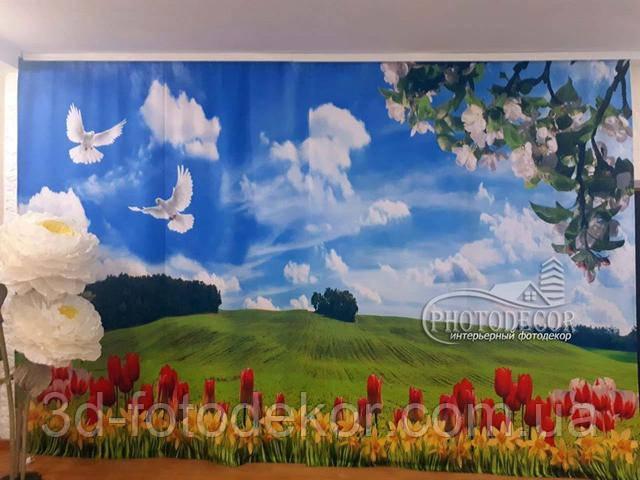 тканини для фото штор в дитячий садок