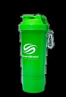 Шейкер SmartShake Slim neon 400 ml