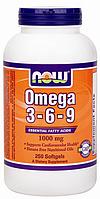 Super Omega 3-6-9 1000 mg Now Foods 100 caps
