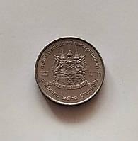 2 бата Таиланд 1987 г., фото 1