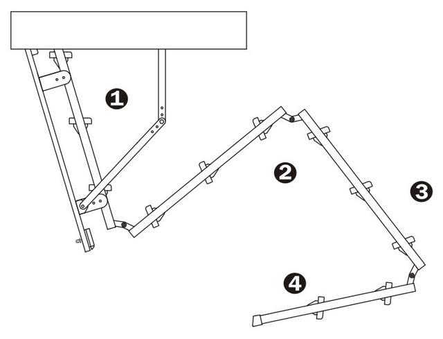 чердачная лестница оман | чердачная лестница трехсекционная