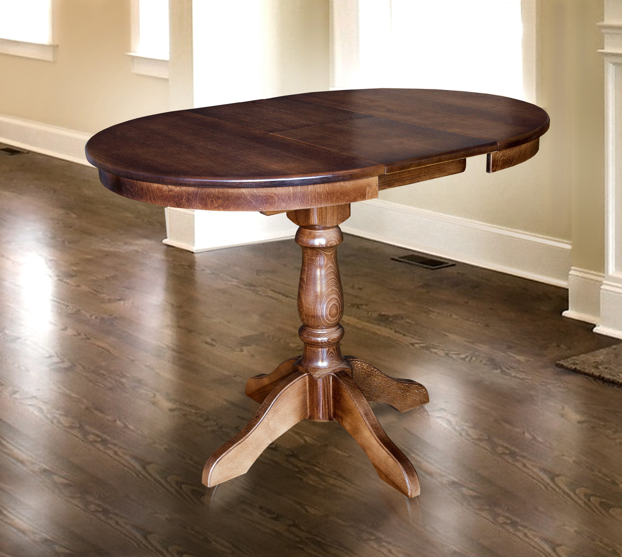Стол обеденный Чумак 2 Орех темный (Микс-Мебель ТМ)