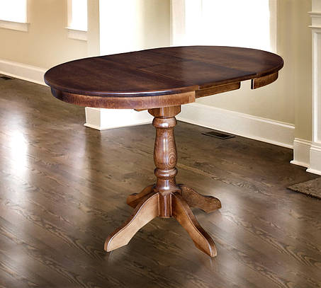 Стол обеденный Чумак 2 Орех темный (Микс-Мебель ТМ), фото 2