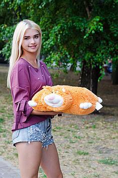 Подушка Складушка Кіт Жора 45 см Рудий
