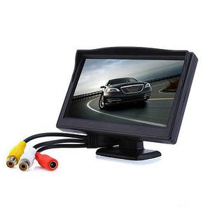 Автомобильный монитор  Stand Security TFT monitor дисплей LCD 4.3 для двух камер заднего вида