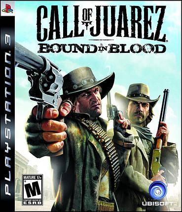 Игра для игровой консоли PlayStation 3, Call of Juarez: Bound in Blood (БУ), фото 2