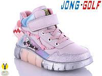 Ботинки детские для девочек Jong-Golf р23-28 (код 3015-00)