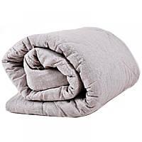 Одеяло льняное с хлопковым чехлом двуспальное