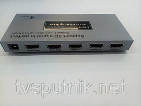 Разветвитель HDMI Splitter D-Tech DT-7144A