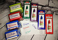 """Набір штампів Shiny """"Оцінки"""" для садка і школи + набір штемпельних фарб, фото 1"""