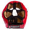 Шлем для единоборств с прозрачной маской FLEX MA-0719-BL (р-р S-XL, синий), фото 3